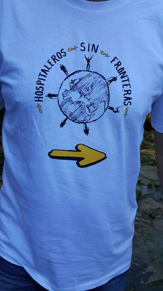 Camiseta ONG Hospitaleros sin Fronteras